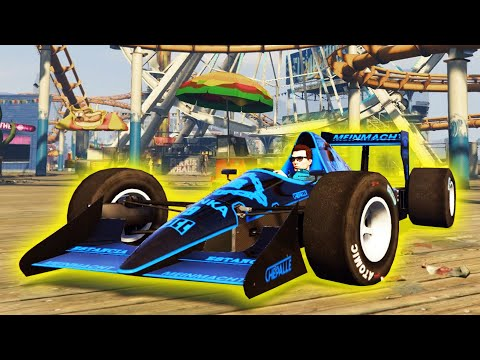 THE NEW F1 CAR IN GTA ONLINE!