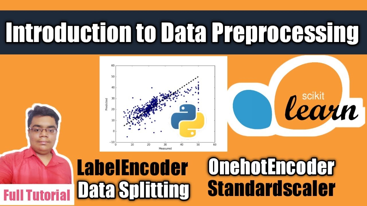 Data Preprocessing in Machine Learning #Python | Full Tutorial |
