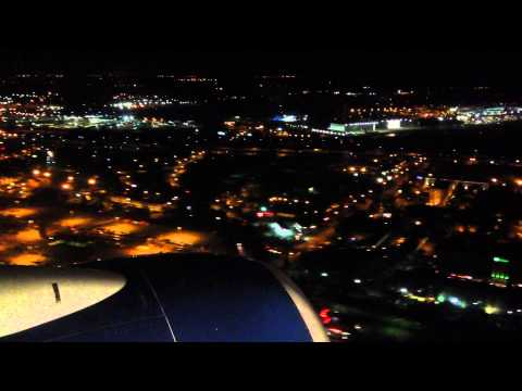 Detroit, Michigan - Landing at Detroit Metropolitan Wayne County Airport HD (2014)