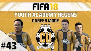 FIFA 18 - Career Mode - Youth Academy Regens - EP43 - Fa Cup Manchester United