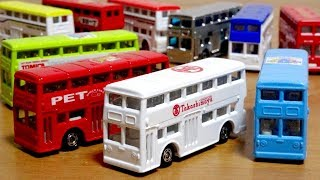 海外限定!日本でも売って!シンガポールの高島屋 トミカ ロンドンバス 他色んなロンドンバスと一緒にどうぞ! LONDON BUS TAKASHIMAYA