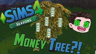 SIMS 4 MONEY TREE!?!?