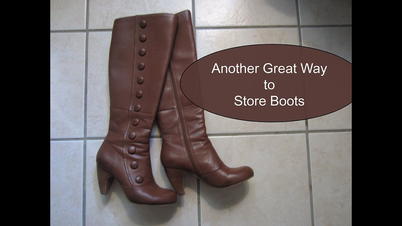 Organize U0026 Hang Lots Of Boots In Closet: Cheap U0026 Easy