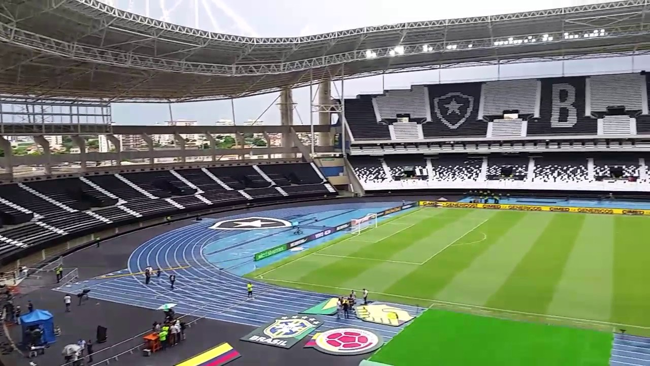 45a0bf28c5 Como está o Estádio Nilton Santos - YouTube