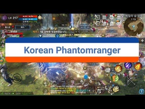 Live_#5 Lineage2 revolution korean Lv.234 Phantom ranger farming field/I'm studing (with pop/R&B)