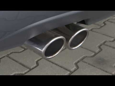 1.4 TSI 122 HP catalytic converter heating process sound | First start after the night