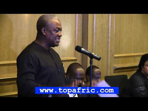 MAHAMA ADDRESSES GHANAIANS IN BERLIN GERMANY