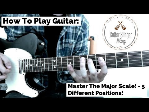 How To Play Guitar: Master The Major Scale | Learn 5 Positions!