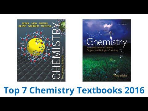 7 Best Chemistry Textbooks 2016