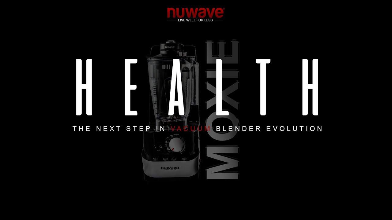 Nuwave Moxie High Performance Blender Youtube