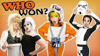 WHO has the BEST COSTUME?!!! WINS $1000 in PRIZES!!