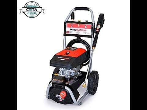 Review of the Simpson Cleaning 2300PSI Electric pressure washer