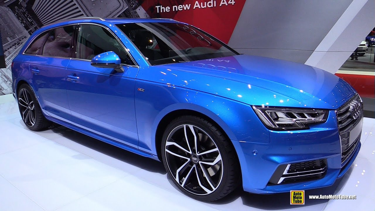 2016 audi a4 2 0t quattro avant exterior and interior walkaround 2015 tokyo motor show youtube. Black Bedroom Furniture Sets. Home Design Ideas