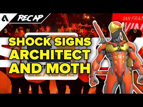Old Spice Sponsor Overwatch Contenders, SF Shock Sign Moth & Architect, Player Union? | Akshon Recap