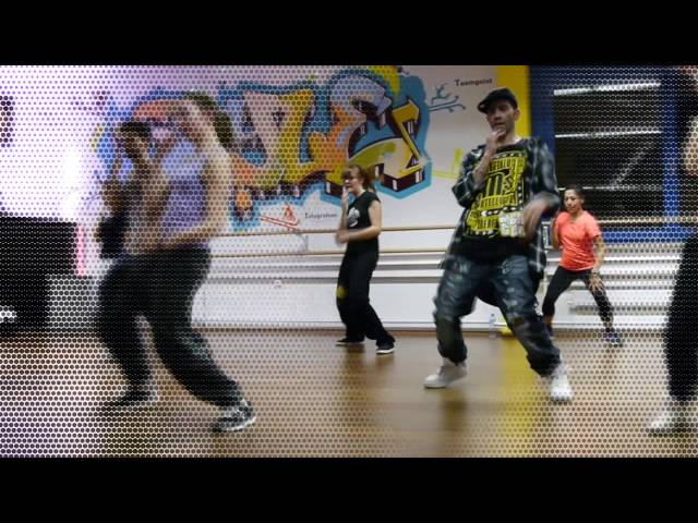 Streetdance routine 1 for beginners