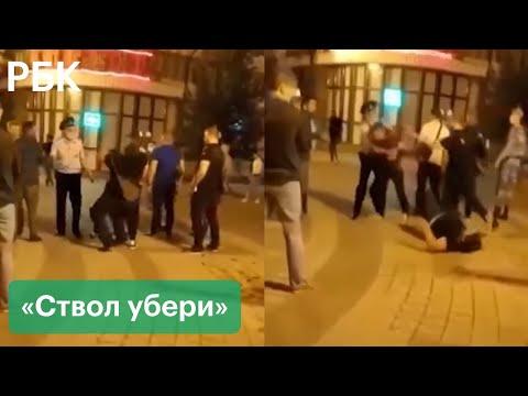 Массовая драка в Симферополе. Туристы из Чечни подрались с местными — СМИ