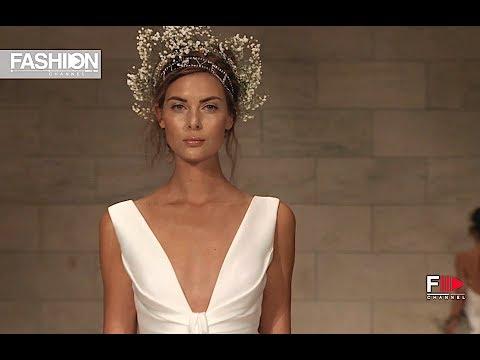 REEM ACRA New York Bridal Fashion Week Fall 2018 - Fashion Channel