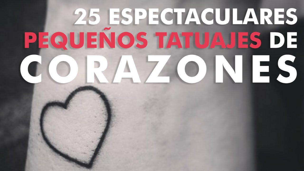 25 Espectaculares Tatuajes De Corazones Youtube