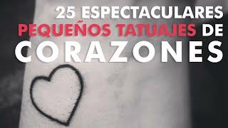 25 Espectaculares tatuajes de corazones
