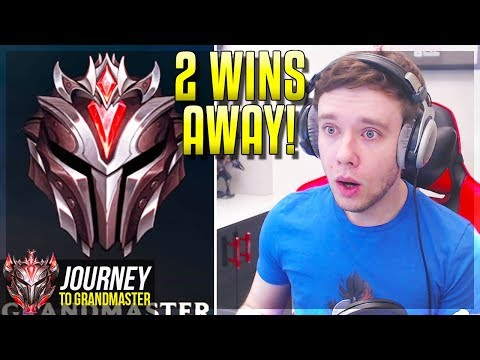 IS THE JOURNEY FINALLY DONE?????? 2 WINS AWAY - Journey To Grandmaster