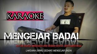 MENGEJAR BADAI (Karaoke/Lirik) || Dangdut - Versi Uda Fajar