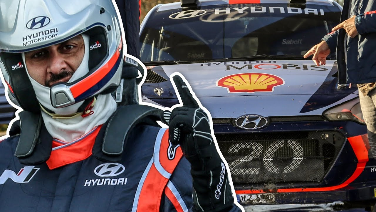 WOW! Hyundai WRC Rally Car Driving Experience - YouTube