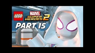 LEGO Marvel Super Heroes 2 Gameplay Walkthrough Part 15 - Spider-Gwen & Spider-Man 2099