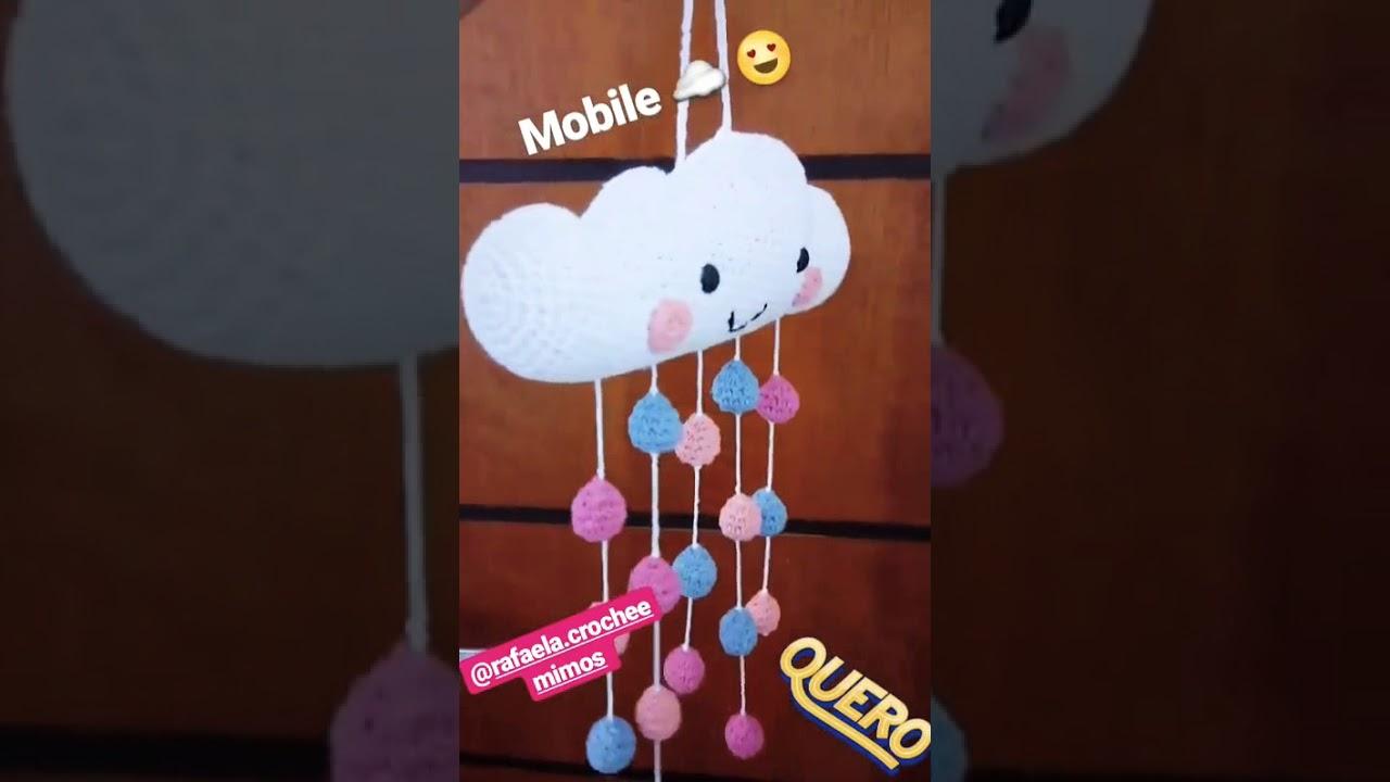 Mobile Nuvem – Meu Amigurumi | 720x1280