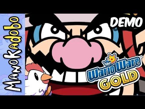 Wario Starts a YouTube Career - Wario Ware Gold Demo | ManokAdobo Full Stream