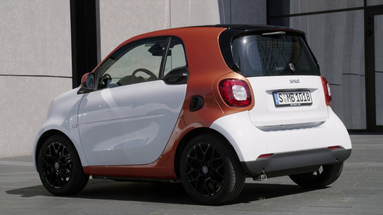 Mercedes Smart Car >> 2015 Mercedes Benz Smart Fortwo Youtube