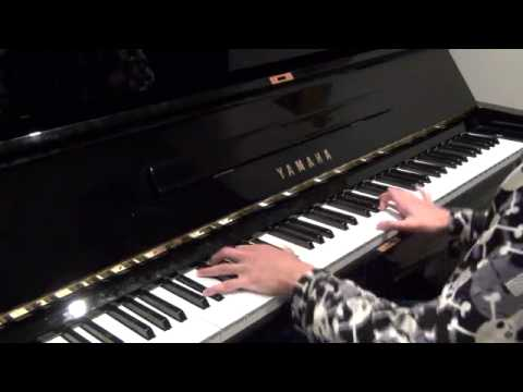 Coldplay - Violet Hill (piano cover) NEW IMPROVED VERSION