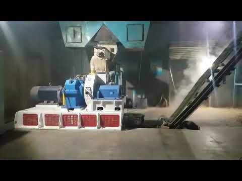 How does a pellet mill work? How to produce wood pellet? +84962537439 Wuxi BSR Precision Machinery