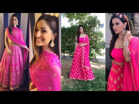 Fashionable Pink Lehenga Designs For 2018 (updated version)