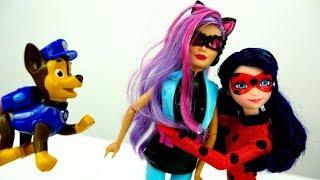 Мультик #Ледибаг и Суперкот: СУПЕРКОТА ПРИВОРОЖИЛИ! ❤️ #МультикиДляДевочек Игры для детей в #Куклы