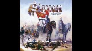 Watch Saxon Run For Your Lives video