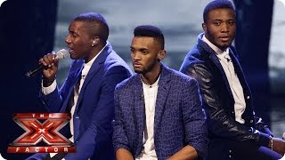Rough Copy sing Sorry Seems To Be The Hardest Word by  Elton John - Live Week 9 - The X Factor 2013