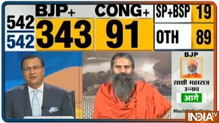 This trend shows that people feel Narendra Modi works for the country, says Swami Ramdev