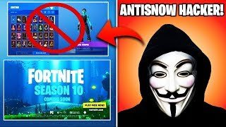 *NEW* Fortnite Season 10 INFO, AntiSnow July 6th EXPLAINED, ALL Robot Stages Leaked, & MORE)