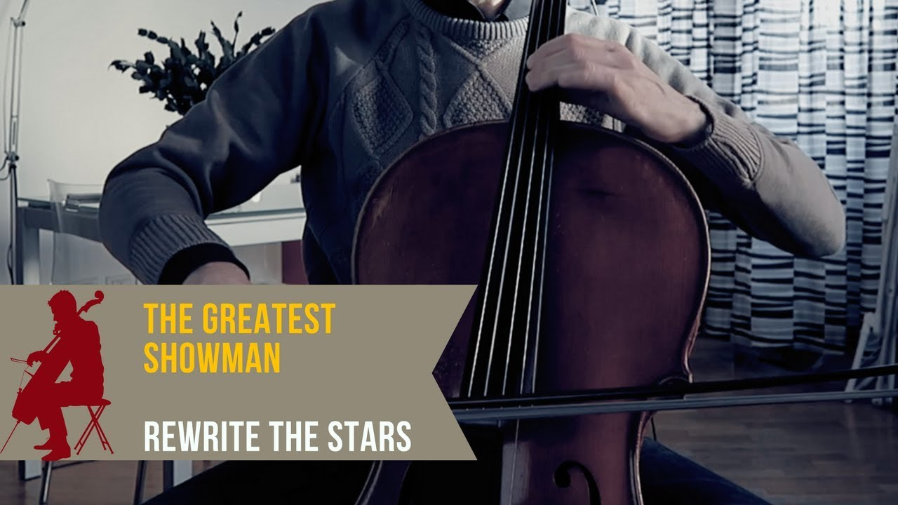 The Greatest Showman Rewrite The Stars For Cello Piano And Orchestra Cover