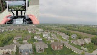 3DR Solo Range Test(DRONE CRASH)