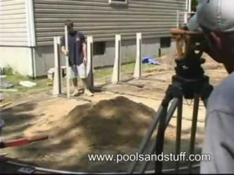 Above ground oval pool installation 1 above ground - Above ground oval swimming pools for sale ...
