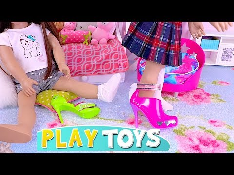 American Girl Dolls Shoe Accessories Decoration Toys! 🎀
