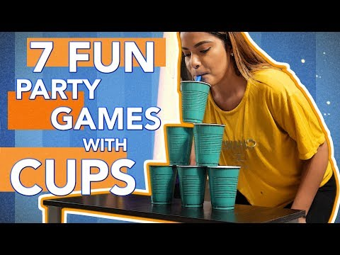 7 Fun Party Games With Cups You Must Try! (PART 3)