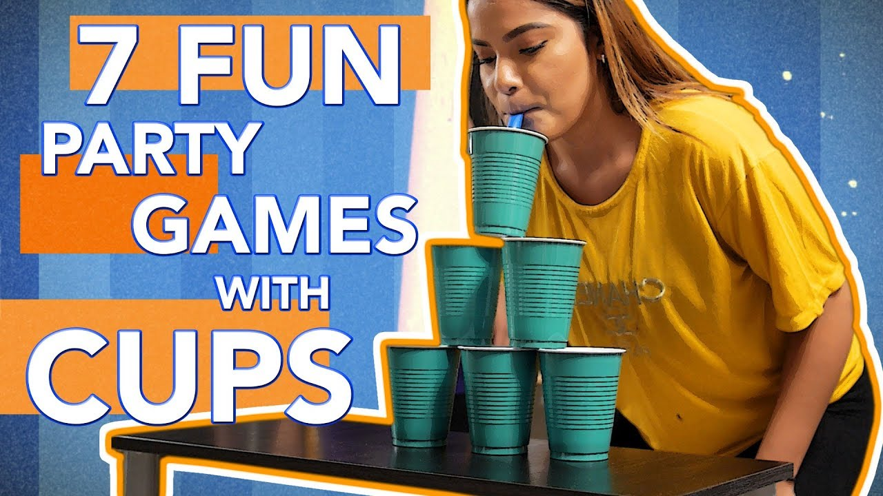 Fun Party Games With Cups You Must Try