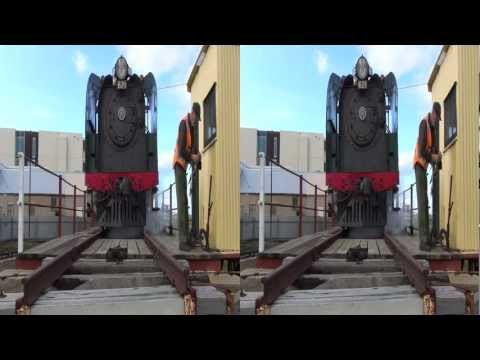 Train Enthusiasts 3D Video Diary 2012-08-19 (3D - SBS)