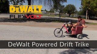 Scott Blake's DeWalt Powered Lazyier Boy Drift Trike