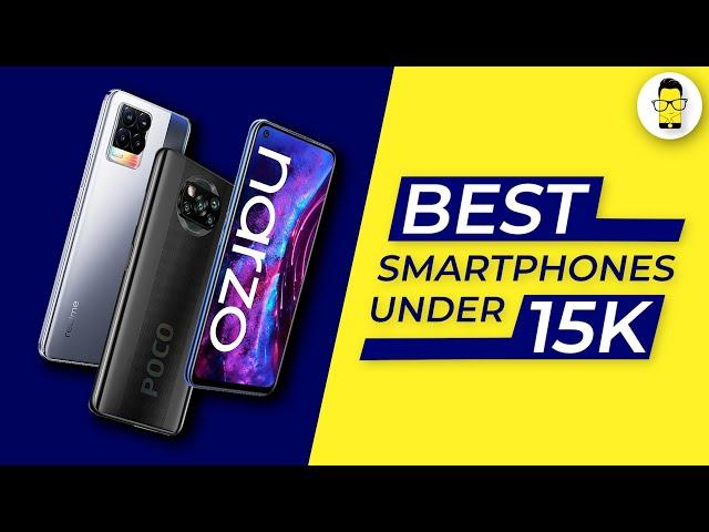 Best Phones Under Rs. 15,000 in India (June 2021)