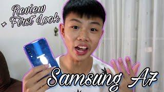 【Review + First Look】Samsung Galaxy A7 (2018) 开箱Samsung A7 三星第一款三颗镜头手机!