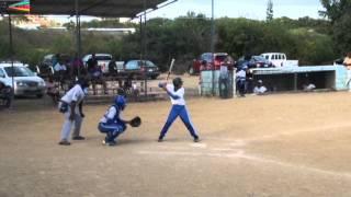 baseball senior league isla vs giro 09 03 2014 at jandoret by miv tv curacao