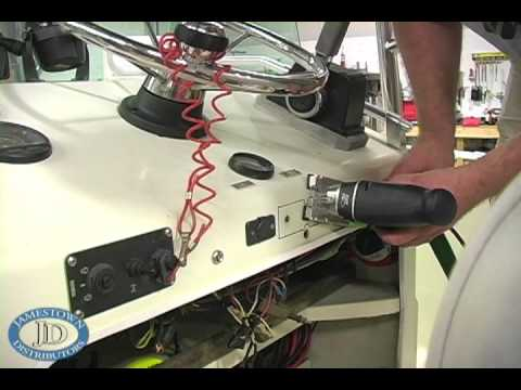 boat accessory switch panel wiring diagram bt master socket nte5 how to install a youtube